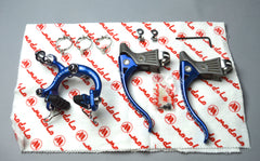 1981 Modolo Professional Brake Parts - Blue anodized