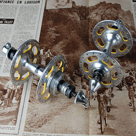 Campagnolo Record High Flange Hubs