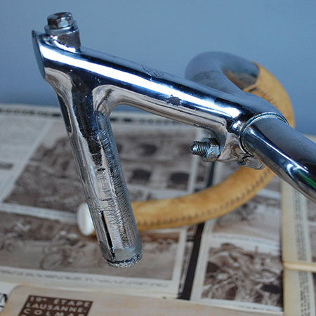 1960's Cinelli Steel Track Bar Set