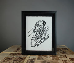 "GSC Art Print ""The Track Racer"""