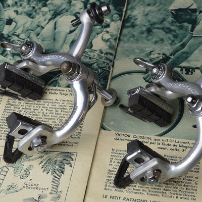 Campagnolo Record brake calipers - nutted attachment