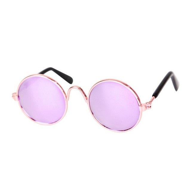 fashion Dog Cat Pet Sunglasses Little Dog Eye-wear Photos Props Dog cat Accessories Pet