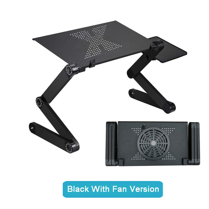 Portable Foldable Table for Laptop With Fan - Saiftec Deals