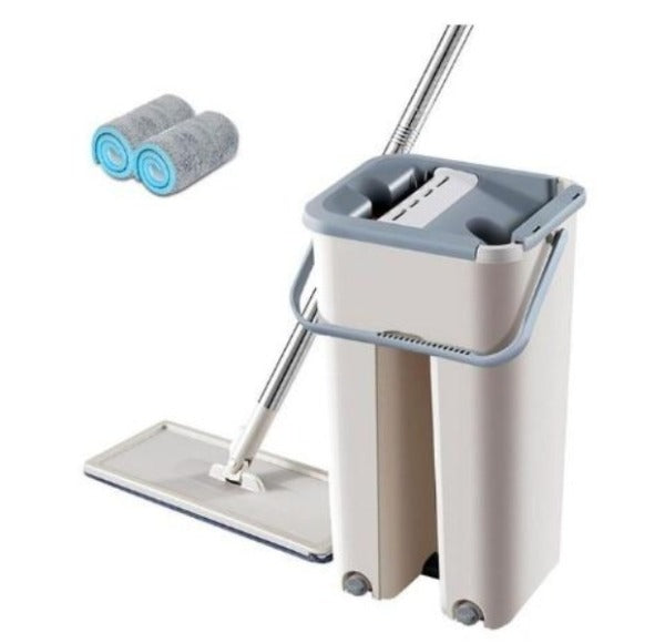 Magic Cleaning Mops with Bucket - Saiftec Deals