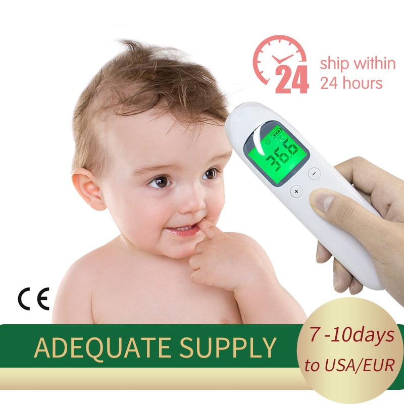 Digital LCD Non-contact Thermometer - Saiftec Deals