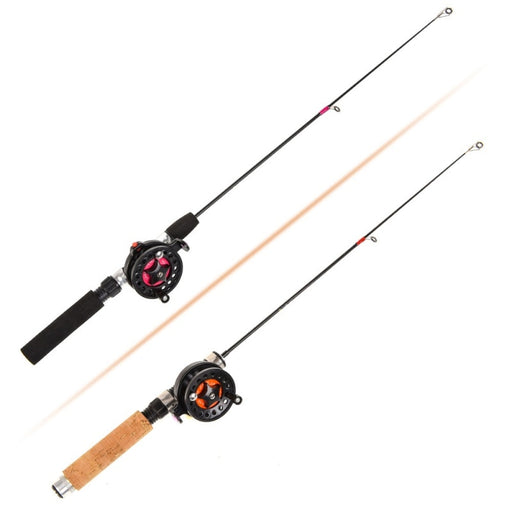 Ice Fishing Rod (Reel) Winter Super Short FRP Fiber Lightweight Retractable Telescopic Pole