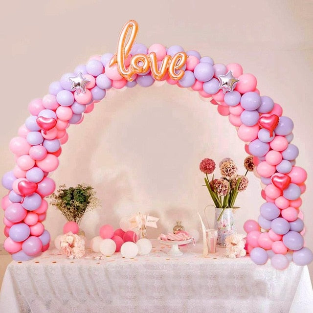 Balloon Arch Wedding Balloon Column Stand Stick Balloon