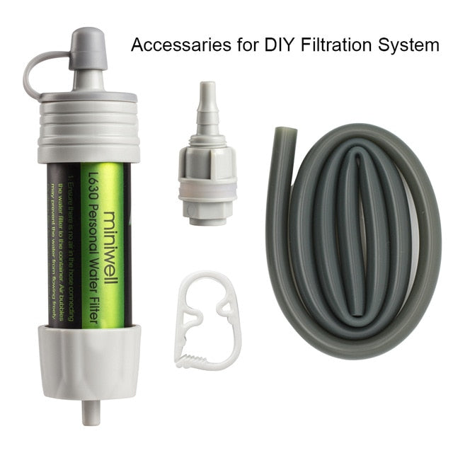 L630 Personal Camping Purification Straw