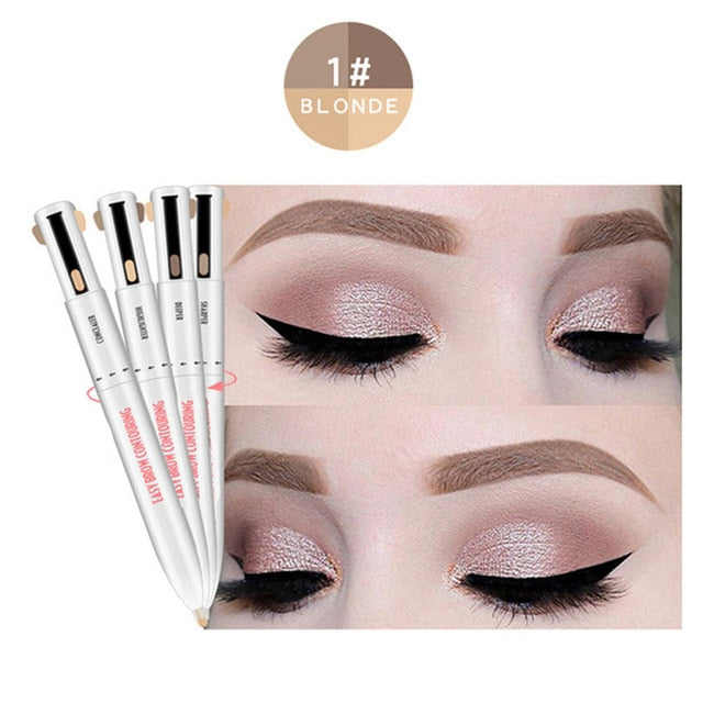 4-in-1 Easy to Wear Eyebrow Contour Pen.