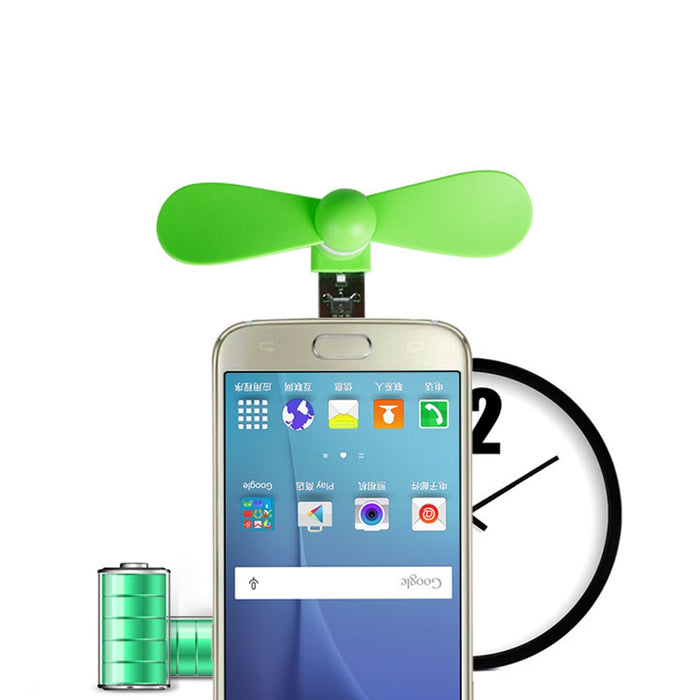 USB Portable Fan For Android + iPhone 5 6S 7 Plus 8 X XS XR
