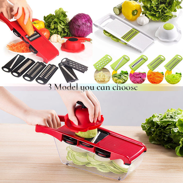 Vegetable Cutter with Steel Blade