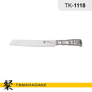 "Tamahagane ""BAMBOO"" Bread Knife 230mm (TK-1118) Made in Japan"