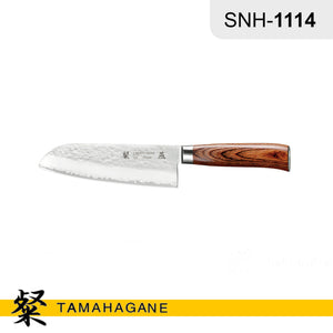 "Tamahagane ""TSUBAME"" Santoku Knife 175mm (SNH-1114) Made in Japan"