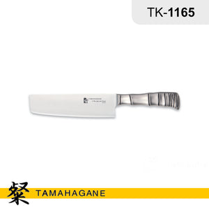 "Tamahagane ""BAMBOO"" Nakiri Knife 180mm (TK-1165) Made in Japan"