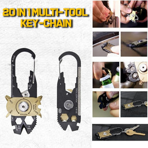 20 In 1 Multi-Tool Key-chain