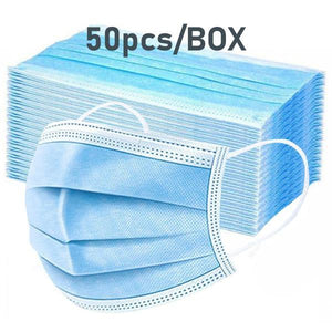 [50pcs/Box] 3-Layer Non-woven Respirator