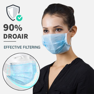 [50pcs/Box] 3 Layers Non-woven Respirator