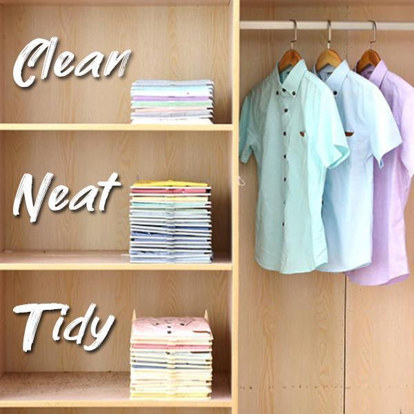 (5pcs) Wardrobe Storage Board Organizer
