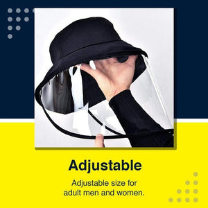 Airborne Transmission Face Shied Isolation Hat