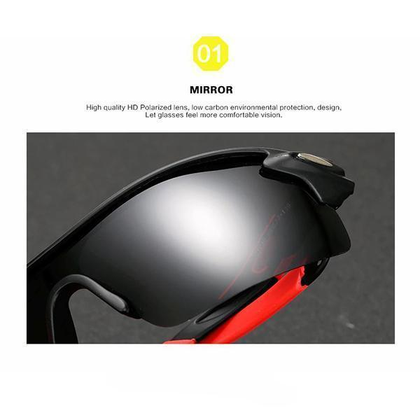 Anti-Glare Sports Sunglasses
