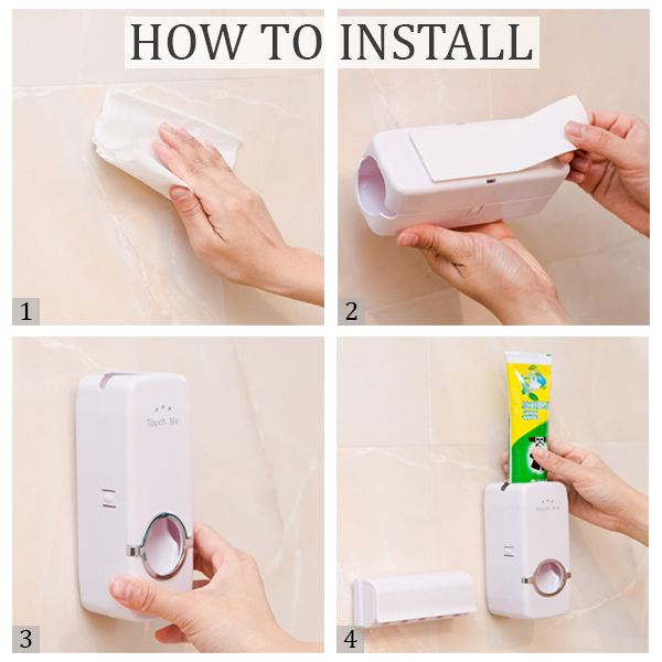 Auto Toothpaste Dispenser