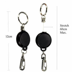 Badge Reel Retractable Keychain