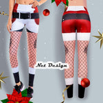 Christmas Holiday Legging Workout Pants