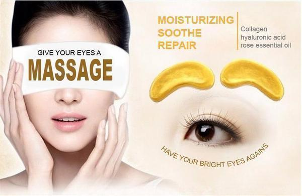 Crystal Collagen Gold Eye Mask