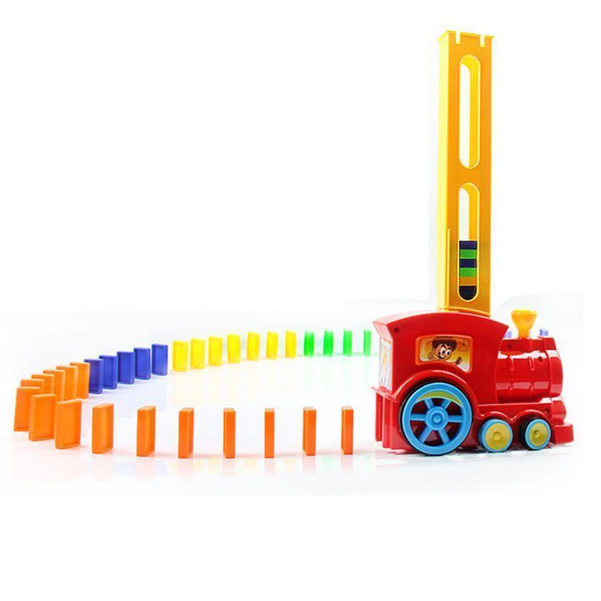 Domino Brick Toy Train