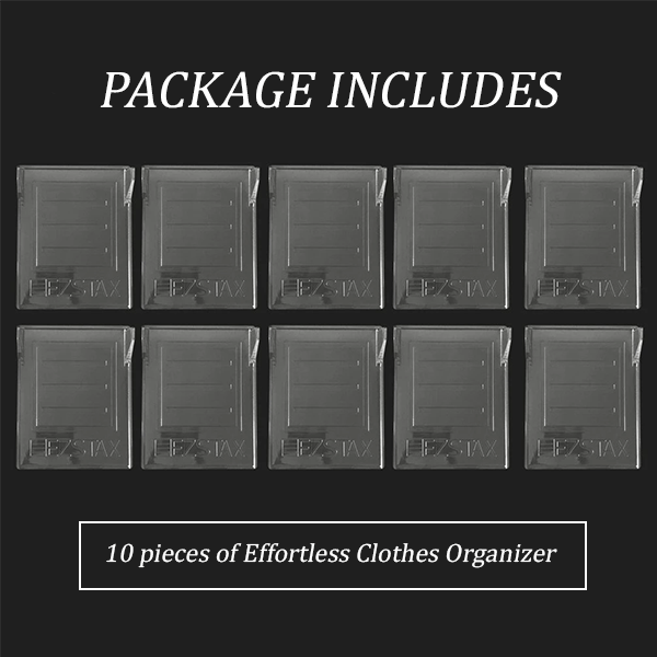 Home - Effortless Clothes Organizer (10 Pcs)