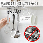 Home - Under-Cabinet Hanger Rack