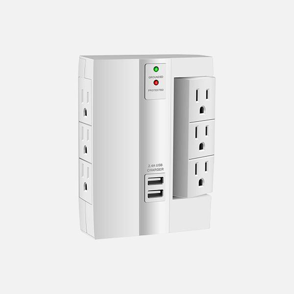 Home - Universal Electrical Swivel Wall Adapter