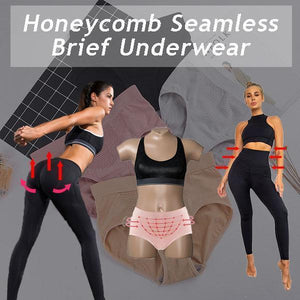 Honeycomb Seamless Briefs Underwear