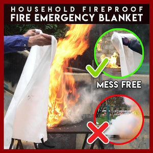 Household Fireproof Fire Emergency Blanket