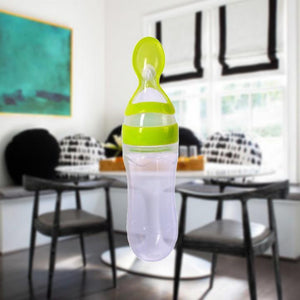 Kid - Baby Bottle Spoon Feeder