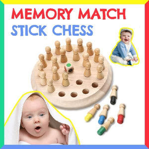 Kid - Memory Match Stick Chess