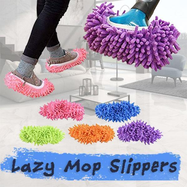 Lazy Mop Slippers