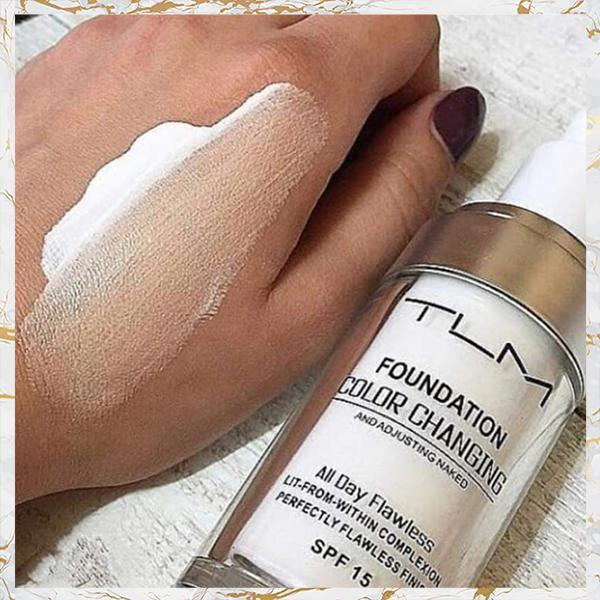 Magic Color Changing Liquid Foundation