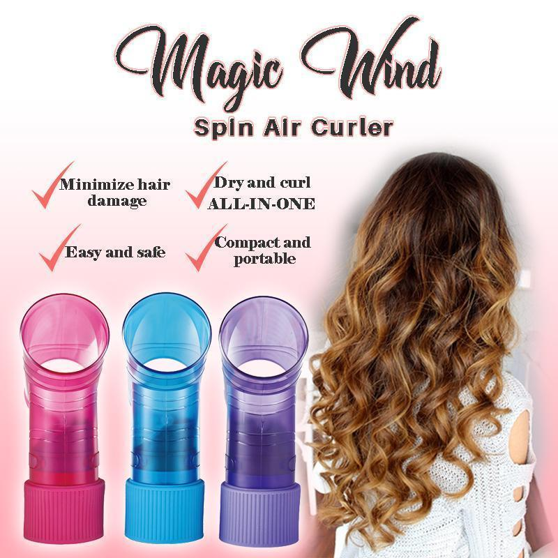Magic Wind Spin Air Curler