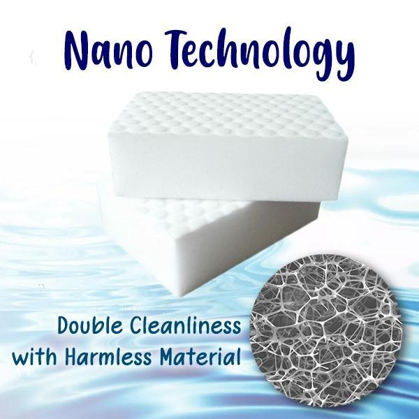 Magical Compressed Cleaning Nano Sponge