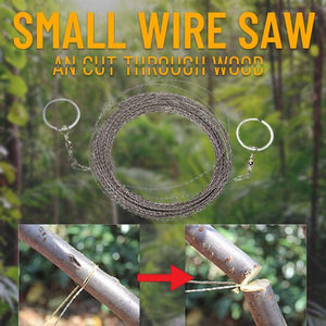 Man - Wire Saw