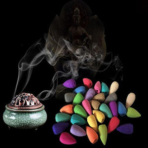 Mixed Floral Incense Cone