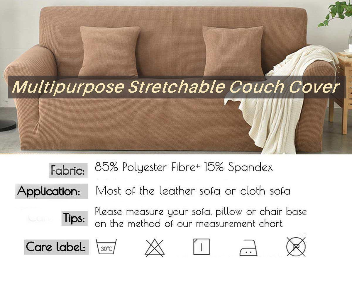 Multipurpose Stretchable Couch Cover