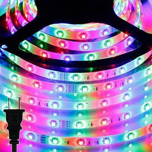 Remote Multi Color LEDs Light Strip