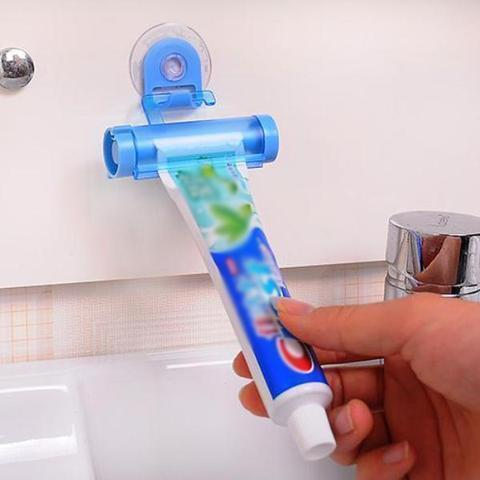 Roll Squeezer Toothpaste Hanging Dispenser