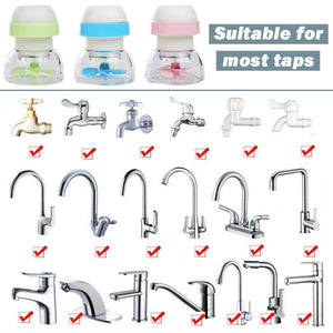 Rotatable Water Saving Faucet Head