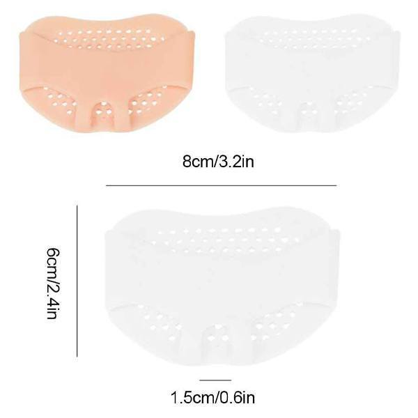 Silicone Honeycomb Breathable Forefoot Pad