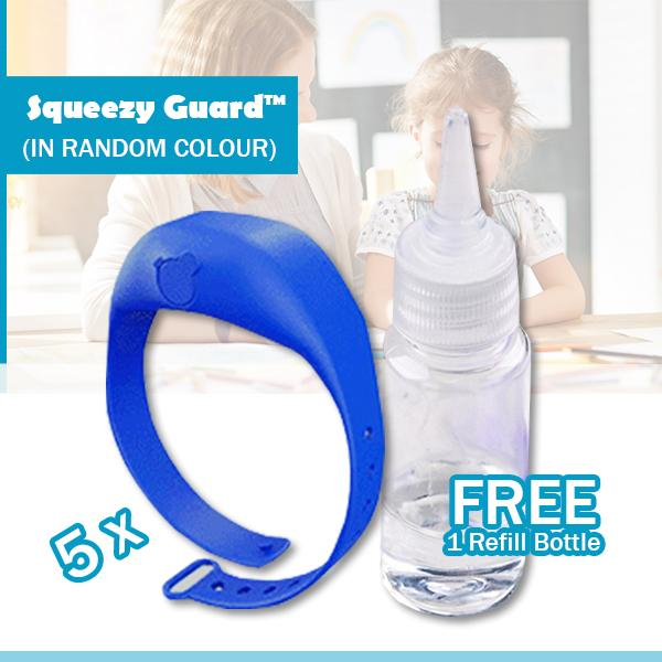 Squeezy Guard™ On-The-Go Sanitizer