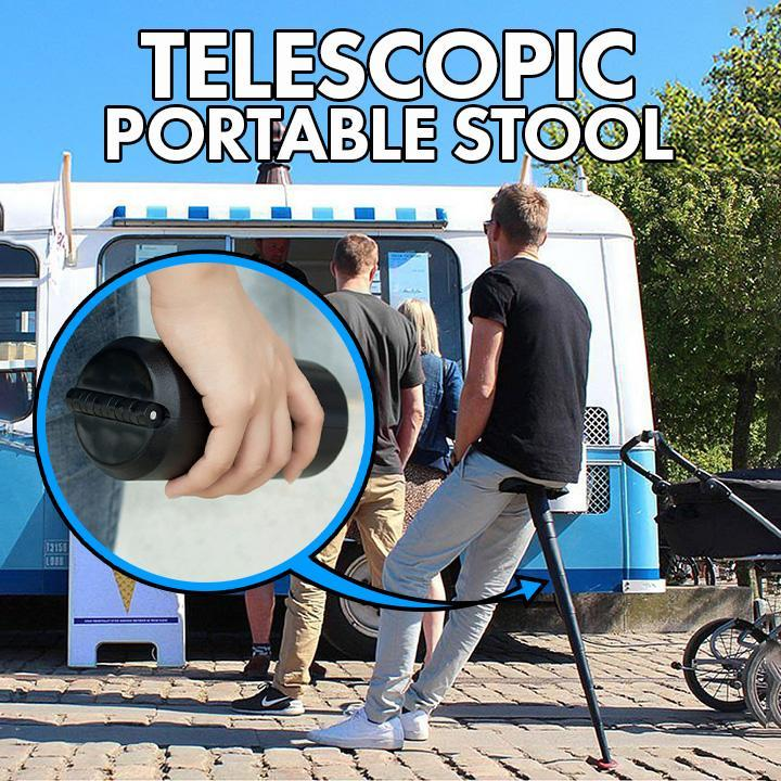 Telescopic Portable Stool