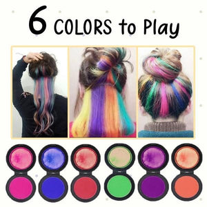 Temporary Hair Dye Washable Set